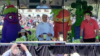 2014 White House Easter Egg Roll: Play with Your Food with Sam Kass and Super Sprowtz