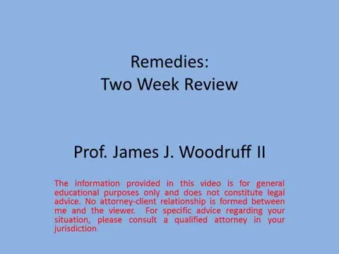 Remedies Review 1
