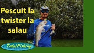 Pescuit la twister la salau, pentru incepatori