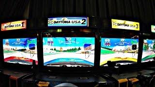Daytona USA Car Racing Arcade Game At Dave & Buster