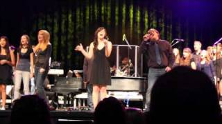 Lean On Me (GLEE VERSION) Ross Hill and Erin Berry (watch in 480p)