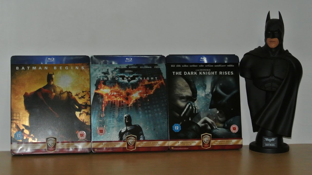 The Dark Knight Limited Steelbook Collection Editions Blu Ray Youtube
