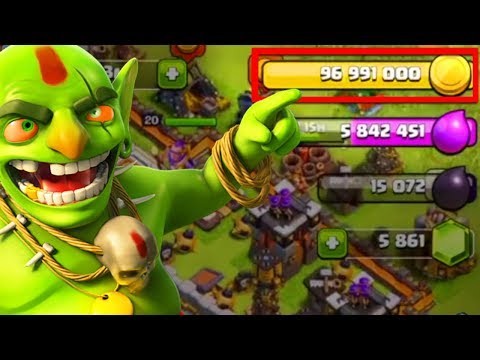 Clash of Clans World Record? | 100,000,000 GOLD IN 1 MINUTE!!! (Not a private server)