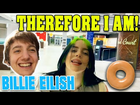 Billie Eilish REACTION! - Therefore I Am (Official Music Video)