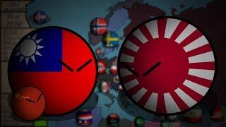 COUNTRYBALLS | Альтернативное Прошлое Европы | 1 сезон 6 серия | Китайско-Японская война