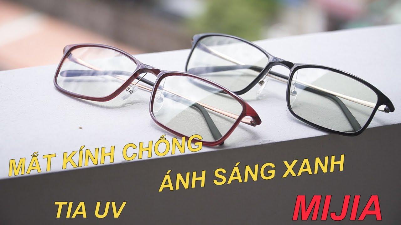 Mắt Kính Chống Tia UV, Ánh Sáng Xanh Mijia HMJ01TS và Phiên Bản Pro HMJ02TS