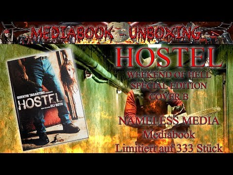 Unboxing - HOSTEL - Weekend of Hell - Special Edition - Mediabook Cover B - Nameless Media