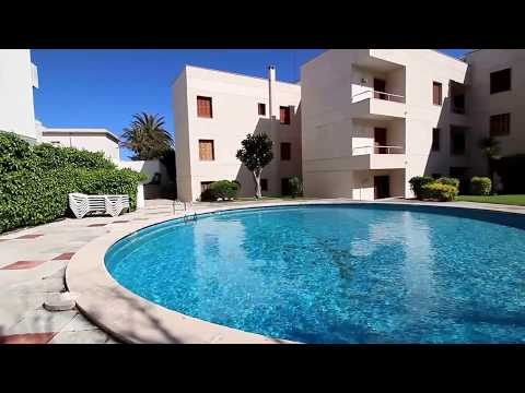 Flat with pool, sea views and parking in Mahón, Menorca.