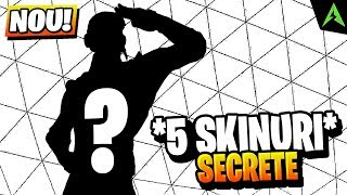 5 SECRET Skins Unreleased in Fortnite.