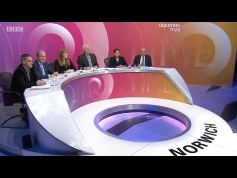BBC Question Time 18May17: Moore, Cable, Patel, Rayner, Bartley