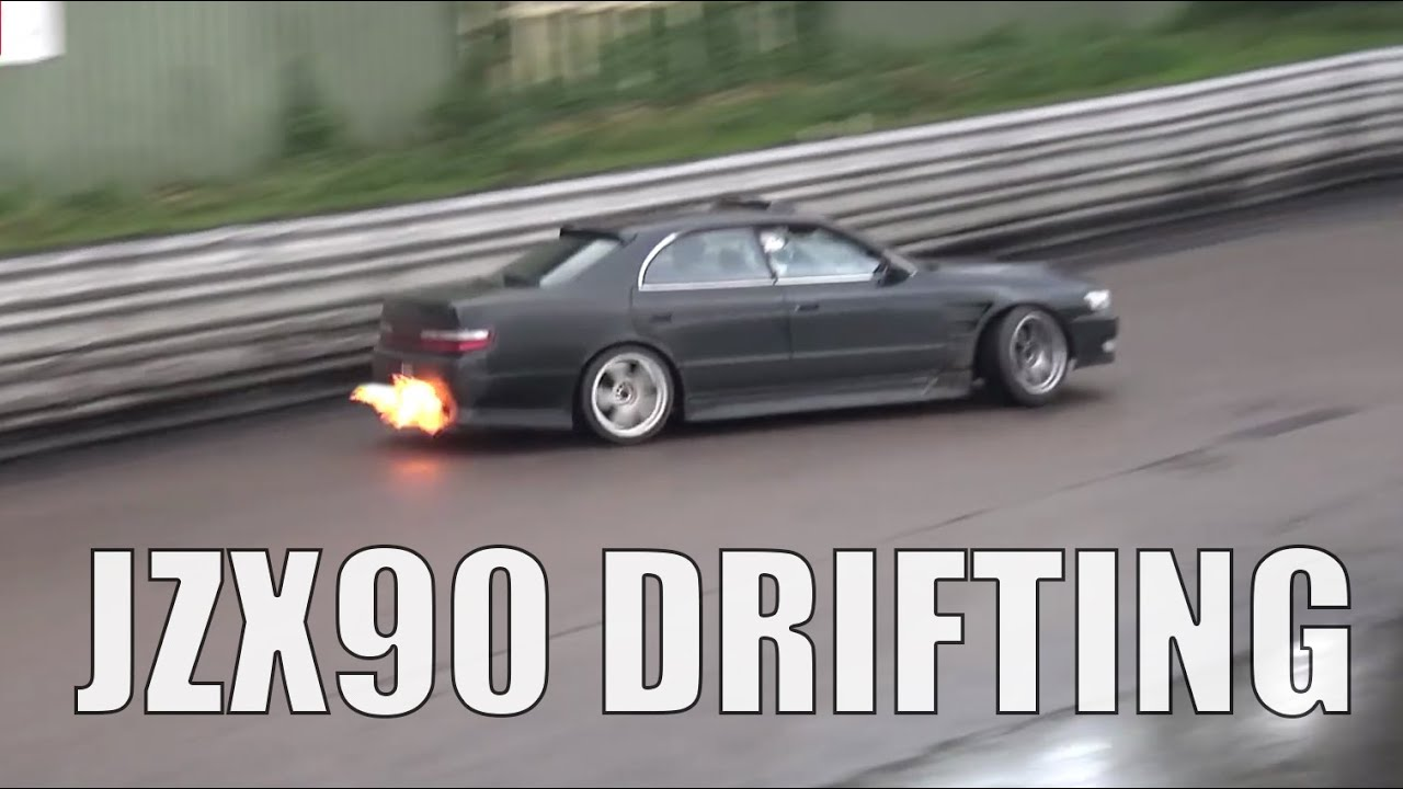 🐒 RUN THE WALL TOYOTA CHASER 1.5JZ JZX90   YouTube