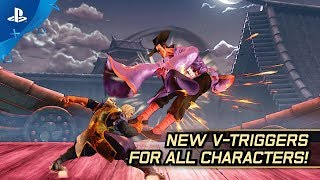 Street Fighter V: Arcade Edition – V-Trigger II Teaser | PS4