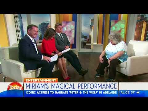 Miriam Margolyes' magical performance - Karl Stefanovic streaming vf