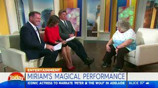 Miriam Margolyes' magical performance - Karl Stefanovic
