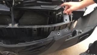 видео Как заменить передний и задний бампер на Мазда 3?
