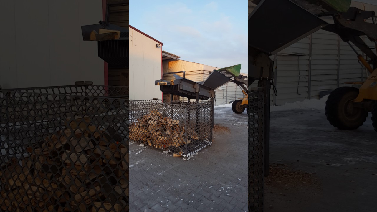 scheibensieb brennholz reinigungstrommel kaminholz holz