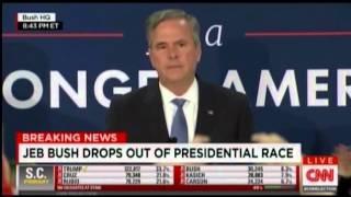 Jeb Bush Suspends Campaign 2016 2 20