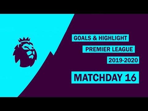 Premier League 2019/20 - Matchday 16 - All Goals & Highlights   HD 1080p