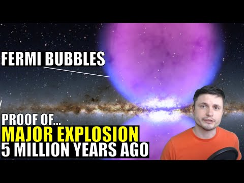 Fermi Bubbles Suggest Our Galaxy Exploded 5 Million Years Ago