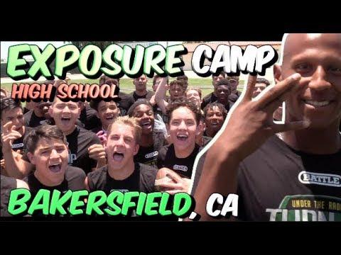 🔥🌴 Under The Radar Exposure Camp | HIGH SCHOOL | Bakersfield (CA) Highlight Mix 2018