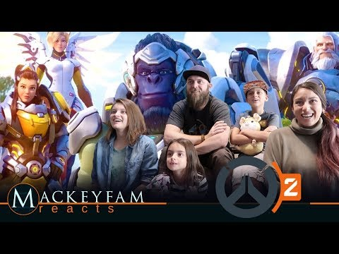 """Overwatch 2 Announce Cinematic   """"Zero Hour"""" & Game Play Trailer - REACTION And REVIEW!!!"""