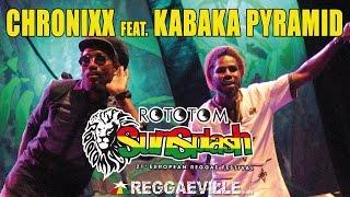 Смотреть клип Chronixx & Kabaka Pyramid - Selassie Souljahz