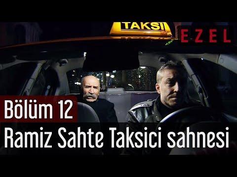 Ezel 12. Bölüm Ramiz Sahte Taksici Sahnesi