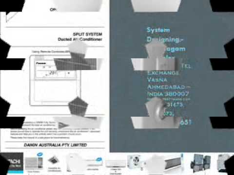 Daikin Air Conditioners Symbols System Designing 919825024651 Youtube