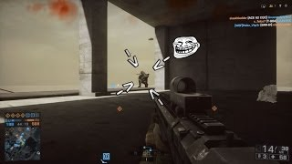 Battlefield 4 - Le retour de Ninja troll man!