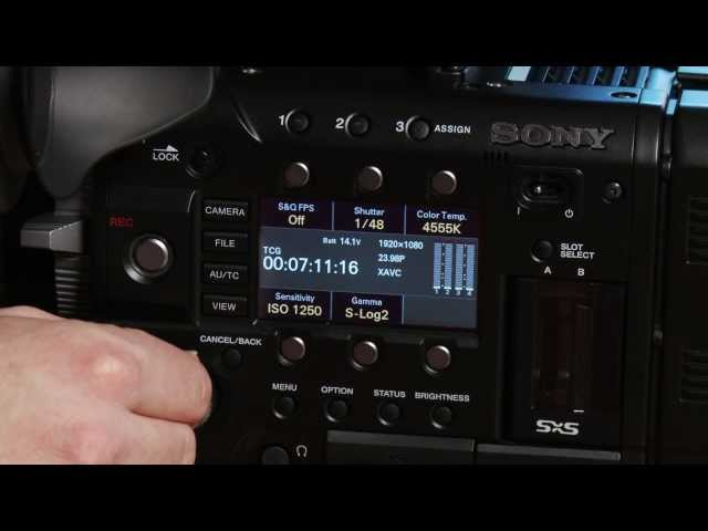 At the Bench: Introduction to the Sony PMW-F55 - Part 2