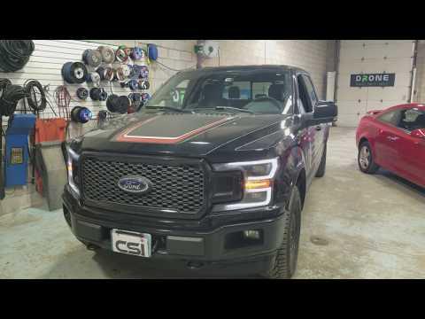 Ford F150 Lariat Dash Cam | Blackvue DR750S-2CH 2channel Dash Cam