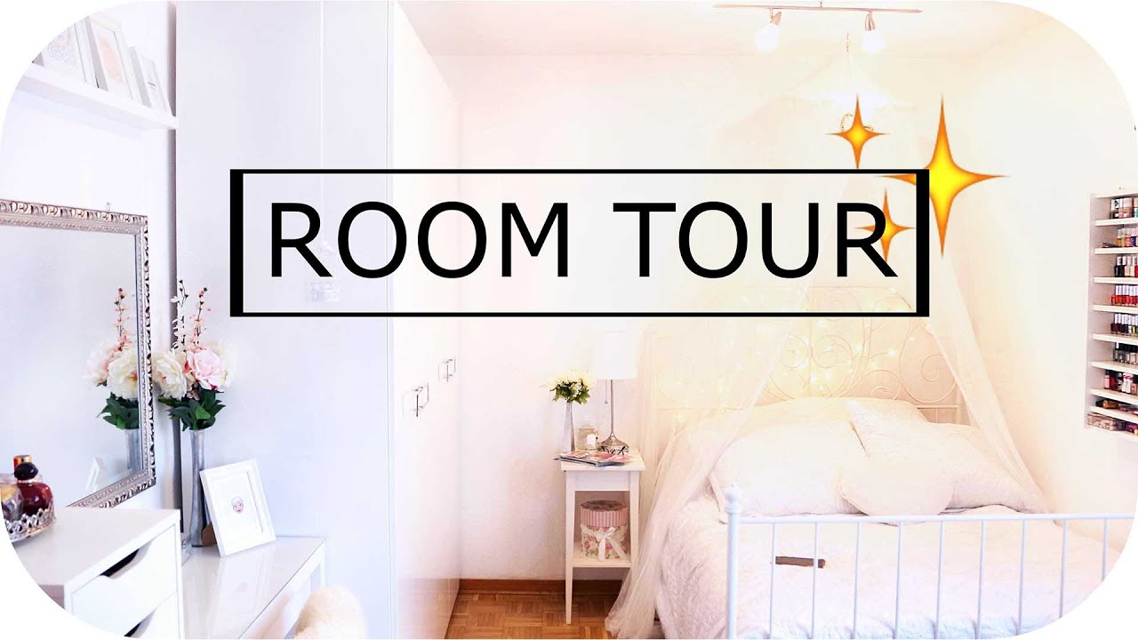 room tour mein zimmer mit pinterest deko ideen sanny kaur youtube. Black Bedroom Furniture Sets. Home Design Ideas