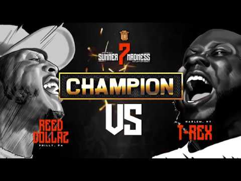 REED DOLLAZ VS T REX FACEOFF - CHAMPION