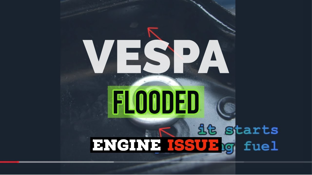 vespa SI24 WARM START - FLOODED ENGINE issue - carb lid prob / FMPguides -  Solid PASSion /