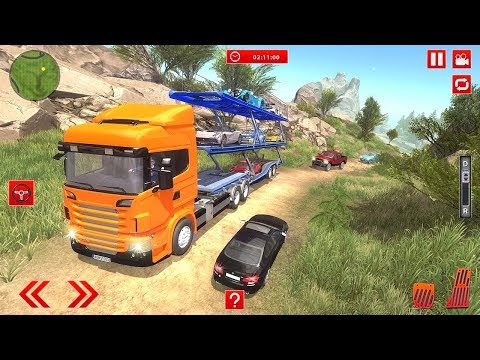 Offroad Car Transporter Trailer Truck Games 2018 (by Stain For Games) Android Gameplay [HD]