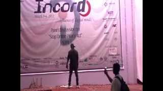 hip hop dance on aadat se majboor in HBTI
