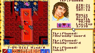 ULTIMA VI: The False Prophet 'Gameplay (PC/DOS) 1990, ORIGIN Systems, Inc.