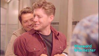Jensen Ackles & Misha Collins Funny Bloopers VS Real Life