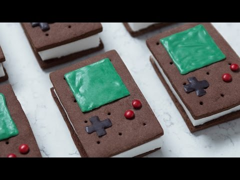 Generate GAME BOY ICE CREAM SANDWICHES - NERDY NUMMIES Pictures