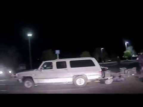 Cottonwood Police - Shots Fired - Officer Down -  Dash Cam footage - Fatal