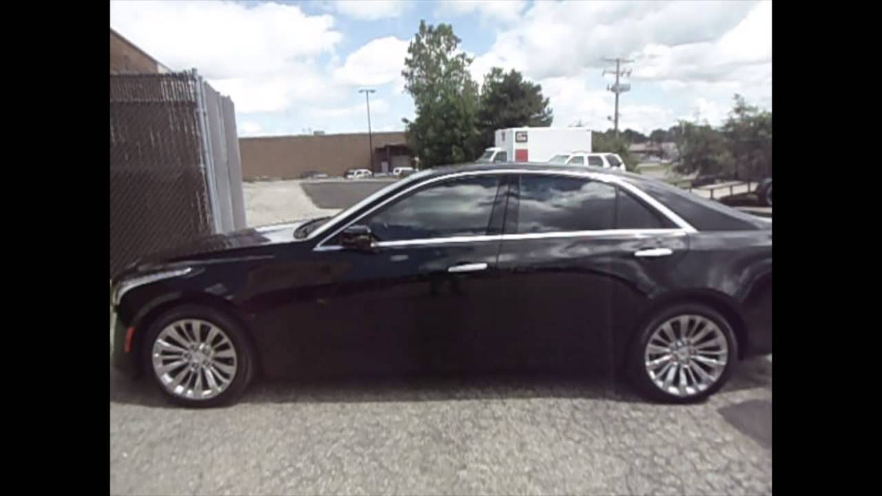 2014 Cadillac Cts With 35 3m Tint On All Side Glass And