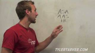 Geometry: 4-5 Triangle Congruence: ASA, AAS, and HL