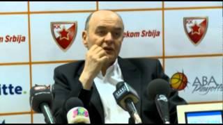 Milosavljević i Vujošević - KZŠ nakon 2. utakmice plej-ofa ABA lige