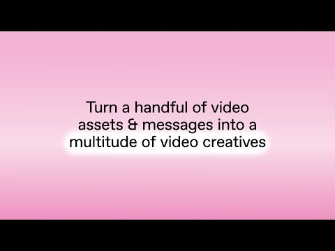 Customize & scale video content with Creative Automation