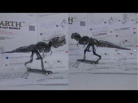 Metal Earth Build - Tyrannosaurus Rex