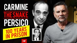Carmine Persico | Boss of Colombo Crime Family | 100 Years in Prison with Michael Franzese