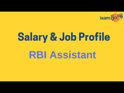 Salary Perks And Job Profile -  RBI Assistant