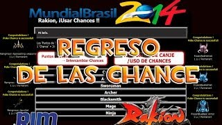 "Rakion - ""Regreso de las chances"" Evento Del Mundial 2014"