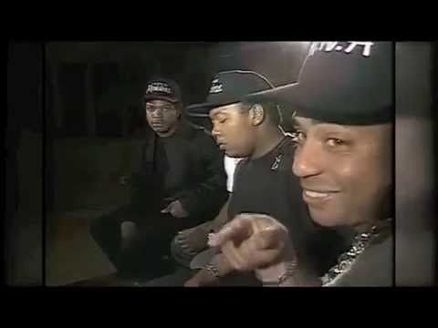 NWA INTERVIEW 1988 TALK ABOUT STRAIGHT OUTTA COMPTON (RARE FOOTAGE)