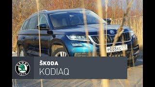 Skoda Kodiaq тест-драйв: Самый практичный, самый острый, самый Шкодиак